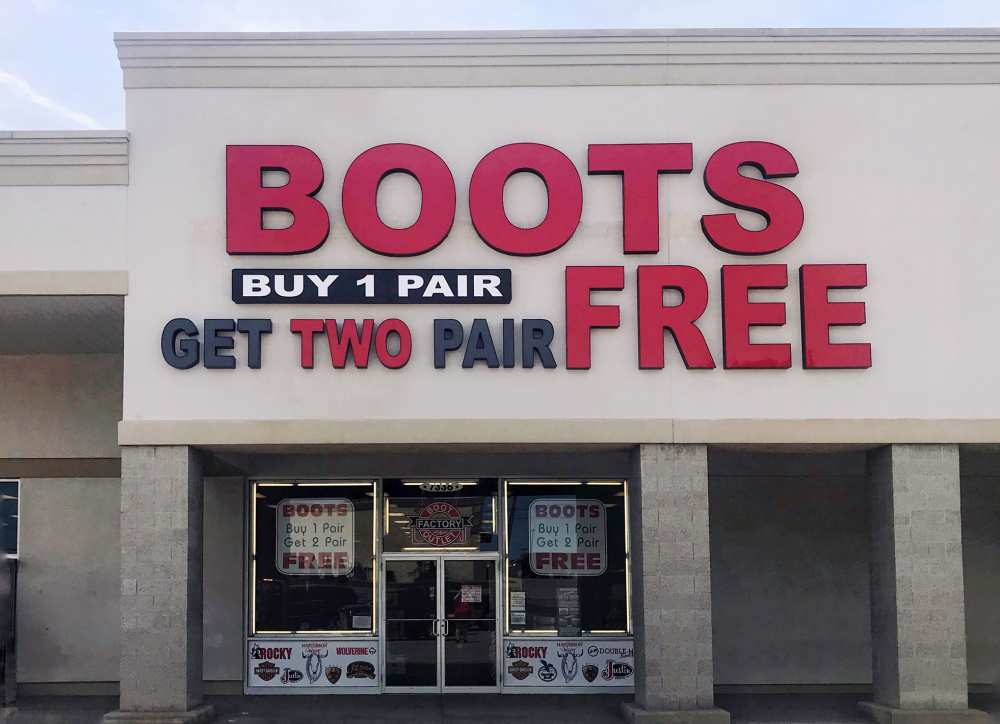 2dfd5b9d181 Locations | Two Free Boots