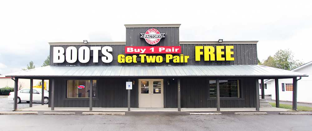 Locations Two Free Boots